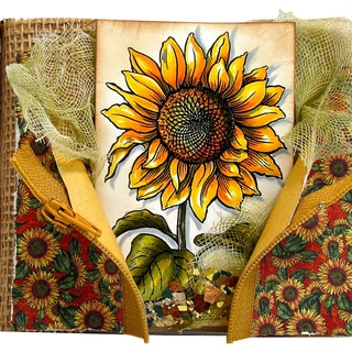 "Stampendous Cling Rubber Stamp 5.5""X4.5"" Sheet-Sweet Sunflower"