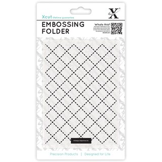 Xcut Universal A6 Embossing Folder-Quilting