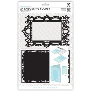 Xcut Universal A4 Embossing Folder-Ornate Frame