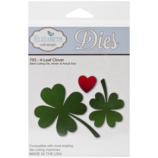 Elizabeth Craft Metal Die-4-Leaf Clover