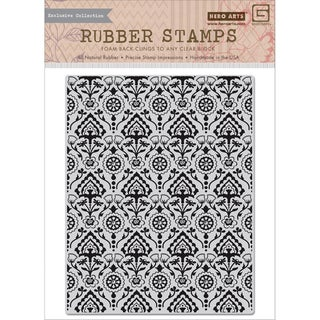 Basic Grey Spice Market Cling Stamps By Hero Arts-Deco Background