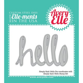 Elle-Ments Dies-Simply Said Hello