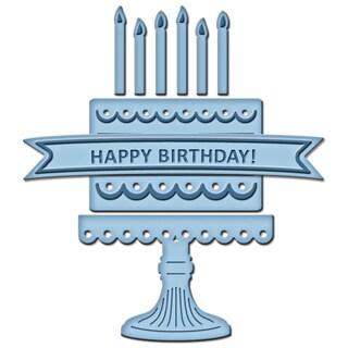 Spellbinders Shapeabilities Die D-Lites-Birthday Cake