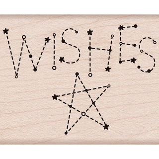 "Hero Arts Mounted Rubber Stamps 2.5""X2""-Wishes"