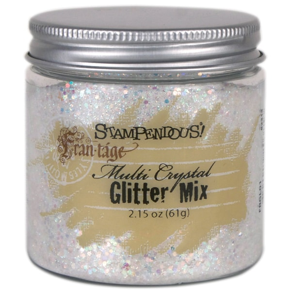 Stampendous Multi Crystal Glitter Mix 2.15oz