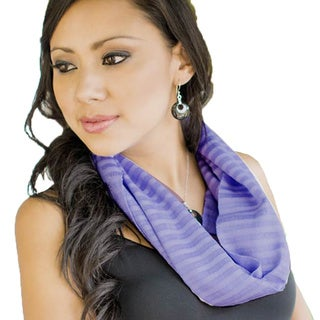 Handcrafted Cotton 'Spring Lily' Scarf (Guatemala)