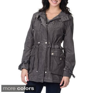 Betsey Johnson Women's Anorak Rain Jacket