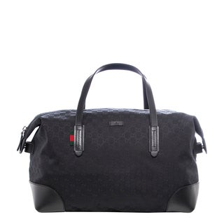 Gucci Original GG Canvas Carry-on Duffel Bag
