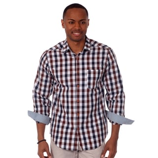 Jordan Jasper Men's Plaid Slim Fit Shirt