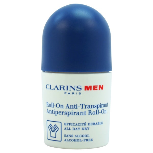Clarins Men's 1.7-ounce Roll-on Antiperspirant Deodorant