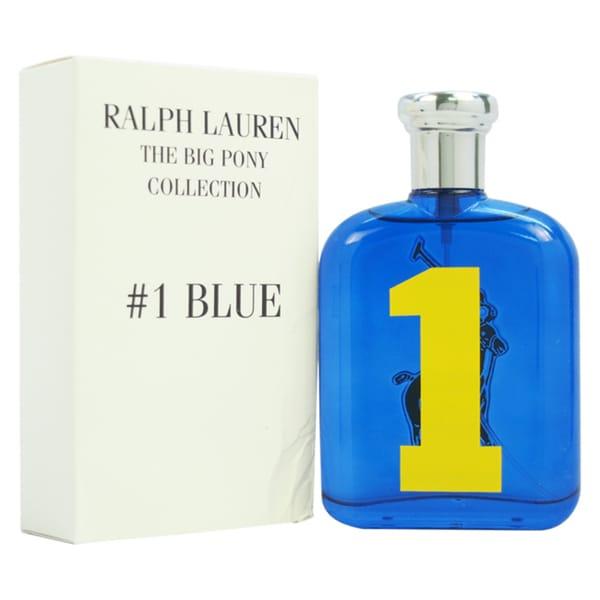 Ralph Lauren The Big Pony Collection #1 Blue Men's 4.2-ounce Eau de Toilette Spray (Tester)