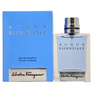 Salvatore Ferragamo Acqua Essenziale Men's 1.7-ounce Eau de Toilette Spray