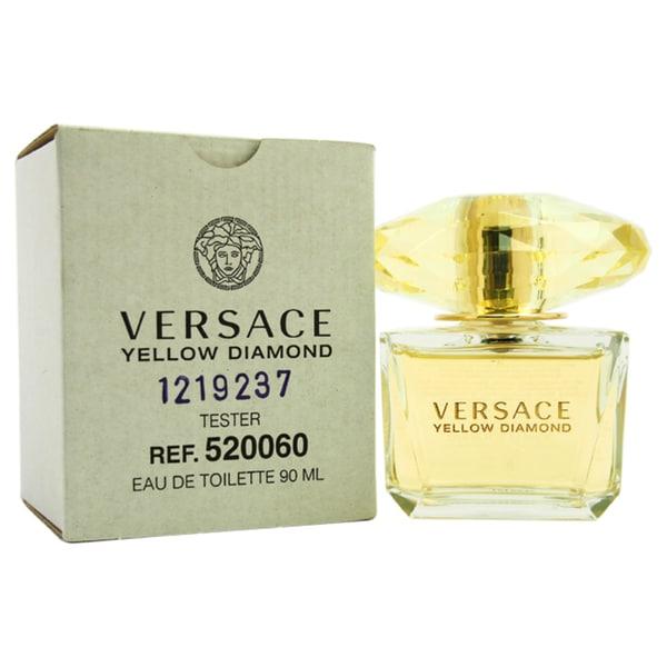 Versace Yellow Diamond Women's 3-ounce Eau de Toilette Spray (Tester)