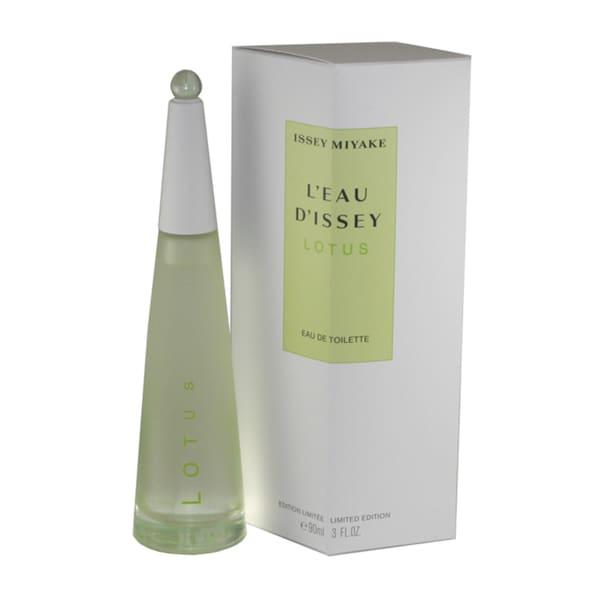 Issey Miyake L'eau D'issey Lotus Women's 3-ounce Eau de Toilette Spray (Limited Edition)