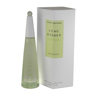 Issey Miyake L'eau D'issey Lotus Women's 3-ounce Eau de Toilette Spray (Limited Edition)