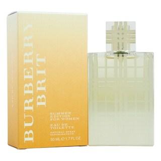Burberry Brit Women's 1.7-ounce Eau de Toilette Spray