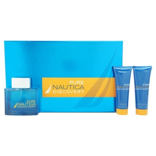 Nautica Pure Discovery Men's 3-piece Gift Set