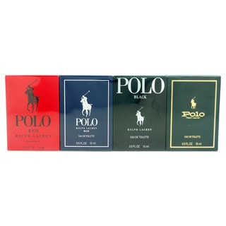 Ralph Lauren Polo Variety Men's 4-piece Mini Gift Set