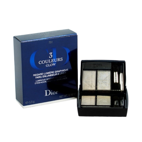 Christian Dior 3 Couleurs Silver Glow Eyeshadow Palette