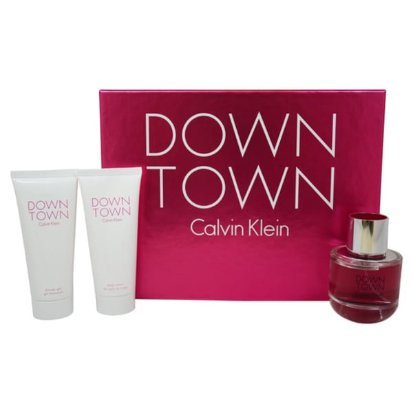 Calvin Klein Down Town Women's 3-piece Fragrance Set