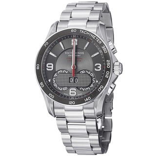 Swiss Army Men's 241618 'Chrono Classic' Grey Dial Stainless Steel Quartz Watch