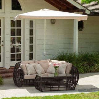 Christopher Knight Home Nogales Half Sun Canopy with Base