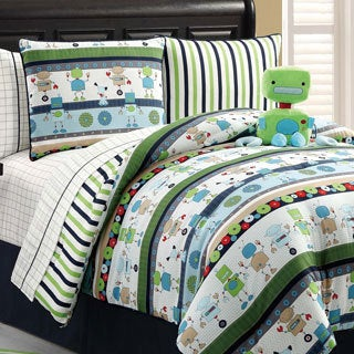 Robbie the Robot 9-piece Bed in a Bag with Sheet Set