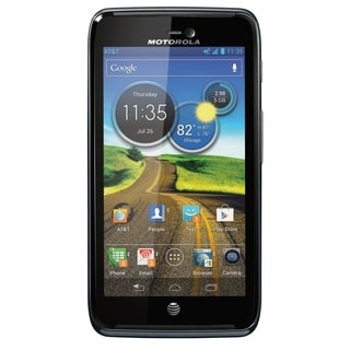 Motorola ATRIX HD MB886 AT&T Locked 4G LTE Black Android Cell Phone