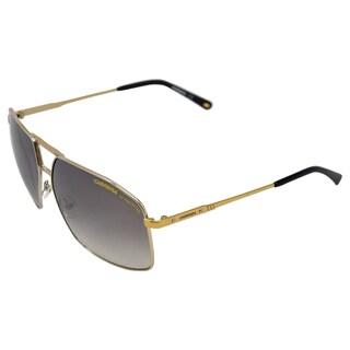 Carrera '19/S TNG' Black and Goldtone Metal Sunglasses