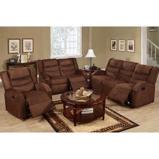 Quebec 3-piece Motion Recliner Living Room Set