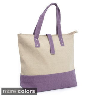 Magid Two-tone Canvas Tote