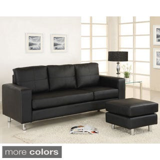 Riga Contemporary Sectional Sofa with Ottoman