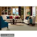 Rivne 2-piece Living Room Set with Colorful Pillows
