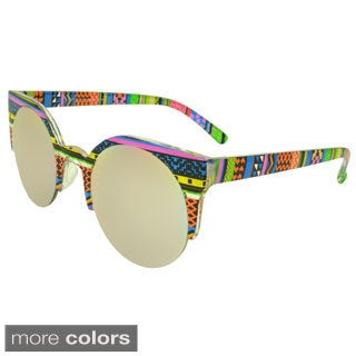 EPIC Eyewear 'Satinwood' Round Fashion Sunglasses