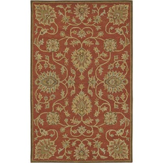 Paragon Copper Wool Rug (3'6 x 5'6)