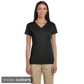 Women's Organic Cotton Short Sleeve V-neck T-shirt