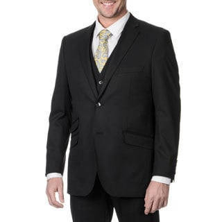 Perry Ellis Men's Slim Fit Black Suit Separate Blazer