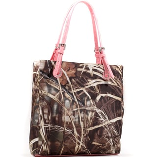 Realtree Square Camouflage Tote with Belted Straps