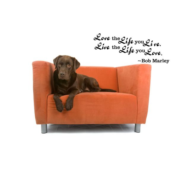 Bob Marley Quote Inspirational Vinyl Wall Art