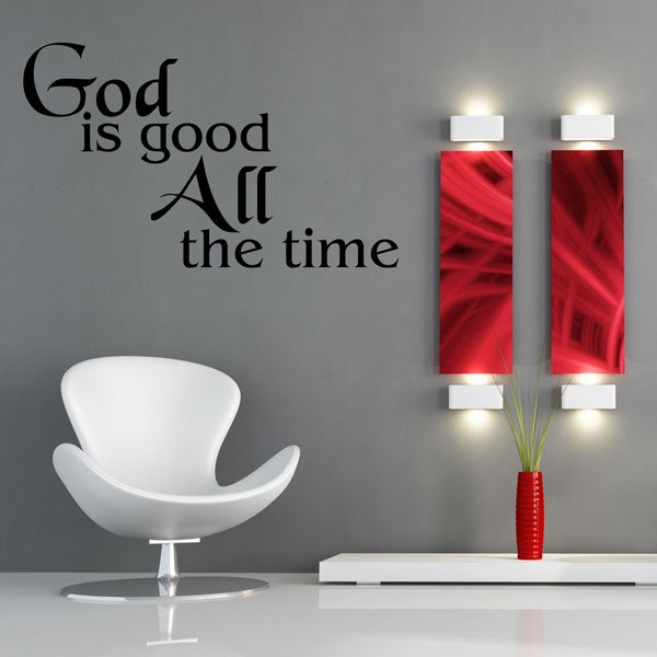 God is Good Inspirational Vinyl Wall Art