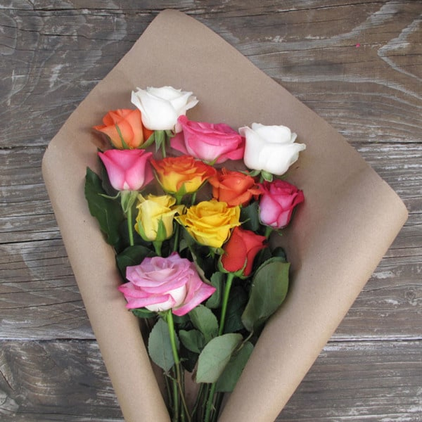 The Bouqs California Collection 'Far Out, Dad' Original Rose Bouquet