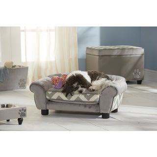 Enchanted Home Pet Small Lotus Furniture Pet Bed