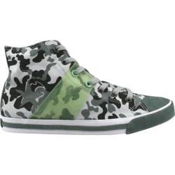 Men's Burnetie High Top Edge White Camo