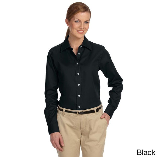 Women's Pima Advantage Twill Collared Shirt