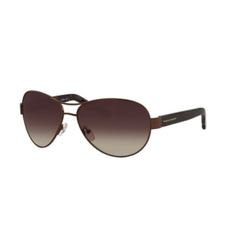 Vernier Women's Tortoise/ Gold Aviator Sunglasses