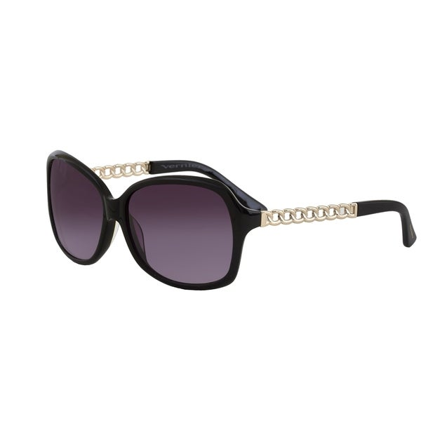 Vernier Women's Square Rope Chain Arm Sunglasses