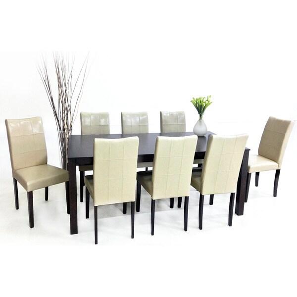 Eveleen 9-piece Chalk Dining Furniture Set