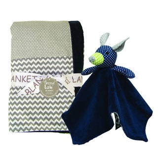 Trend Lab 2-piece Perfectly Preppy Blanket Set