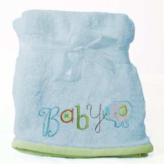 Nurture Imagination My ABC's Elephant Plush Blanket