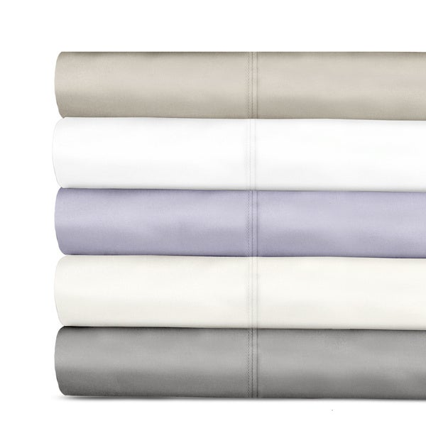 Grand Luxe 600 Thread Count Tencel Deep Pocket Sheet Set and Pillowcase Separates